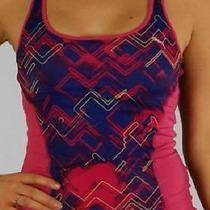Sz. S New First Quality Puma Women's Gym Fitness Cool Cel Tank Top Shelf Bra Photo