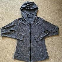 Sz Xs Columbia Light Weight Hoodie Jacket With Pockets in Marled Charcoal Photo