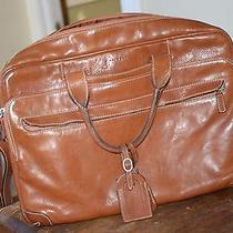 T. Anthony Italian Leather Travel Computer Messenger Bag. Gorgeous Photo