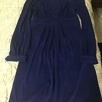 T Bags Blue Sweater Dress Size Small Photo