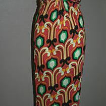 T-Bags Size Small S Dress Maxi Casual Green Pink Orange Anthropologie Fulllength Photo