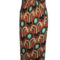 T-Bags Sz Small S Dress Maxi Casual Green Pink Orange Anthropologie Full Length Photo