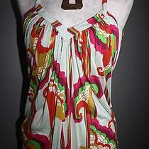 T Bags Tbags La Tank Top Green Pink Orange Red Xs Extra Small 0 2 4 Photo