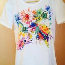 T-Shirt Hand-Paintedman Fantasy Crazy Animals Birds Photo