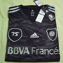 T-Shirt Jersey River Plate Original Adidas 75 Years Monumental  Photo