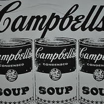 T-Shirt Large Campbells Soup Art Tank Top Photo
