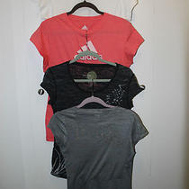 T-Shirt Liquidation Sale Set of 7 All Large Ck Adidas James Perse Express  Photo