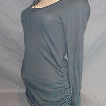 T18  Victoria's Secret Moda Intl Light Soft  Stretch  Tunic  Cotton  Sweater L Photo