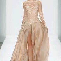 Tadashi Shoji Blush Formal Gown Prom Wedding  Photo