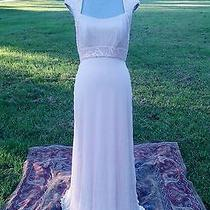 Tadashi Size 8 Blush Pink Bridesmaid or Mother of the Bride Prom Dress Photo