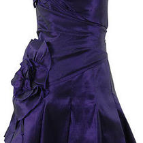 Taffeta Layered Strapless Party Dress (Iris 10) Photo