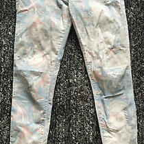 Tag Elemental Size 27 Paisley Floral Skinny Jeans Pants in Multicolor 9 Rise Photo