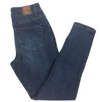 Tahari Chloe Skinny Dark Wash Denim Blue Jeans 6/28 Womens Pants Bottoms Photo