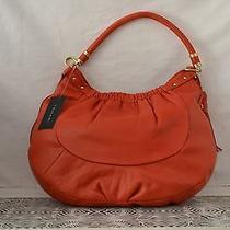 Tahari Red Carnival Hobo Bag W/leather Tassel and Storage Bag Photo