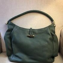 Talbots Leather Purse Moss Green Photo