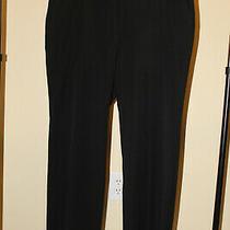 Talbots 16wp Black Dress Pant Euc Free Ship Photo
