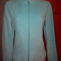 Talbots Aqua Velour Sporty Jacket Size Ps Photo