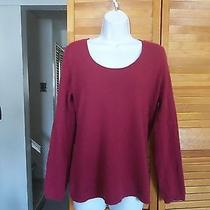 Talbots Berry  Pure Cashmere Sweater M Photo