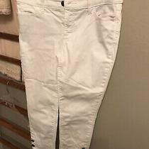 Talbots Flawless 5 Pocket Jeans  4p White Photo