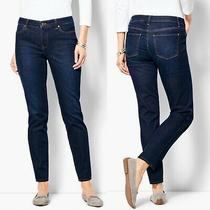 Talbots Flawless Five Pockets Jeans Womens Size 8 Slim Ankle Stretch Ankle Photo