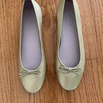 Talbots Gold Ballet Flats Size 9 Photo