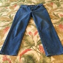 Talbots High Waist Modern Ankle Jeans Light Wash Size 8 New Photo