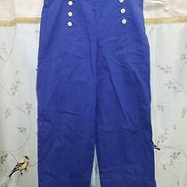 Talbots High Waisted Deck Pants Size 8 Photo