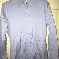 Talbots Kids Button Down Shirt Boys Size 20 Long Sleeve Blue Collar Photo