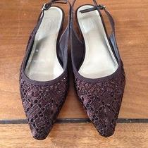 Talbots Lace Slingbacks 8b Photo