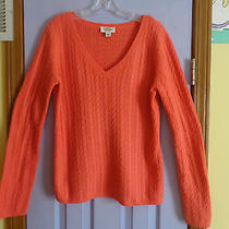 Talbots Lambs Wool Blend v-Neck Sweater - Large - Never Worn Photo