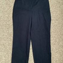 Talbots Navy Size 8 Perfect Crop Curvy Career Dress Capri Pants New With Tag Nwt Photo