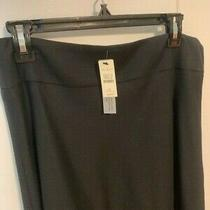 Talbots New / Tags  Black Italian Flannel - Lined  Skirt Size 8 Look Photo