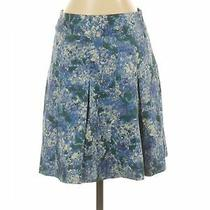 Talbots Outlet Women Blue Casual Skirt 2 Petites Photo