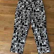Talbots Petites Black/white Pants -Size 12 Photo