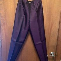 Talbots Pink Silk Dress Pants Size 6 Purple Photo