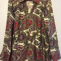 Talbots Pure Silk Blouse Size 16 Photo