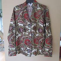 Talbots Pure Silk Blouse - Size 8 Photo