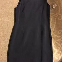 Talbots Pure Silk Dress in Navy Photo