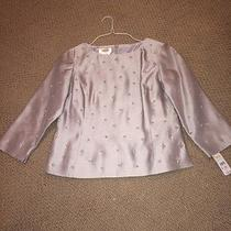 Talbots Silk Matte Taffeta Top Photo