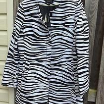 Talbots Size 12 Black/white Dress Suit Photo