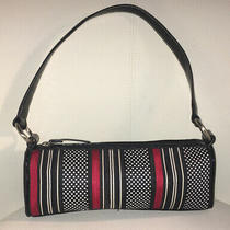 Talbots Small Multi Color/pattern Black Red White Purse Handbag Clutch Shoulder Photo