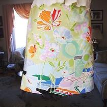 Talbots Summer Skirt Size 6 Photo