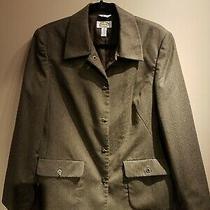 Talbots Sz 10 Brown Wool Blazer  Photo