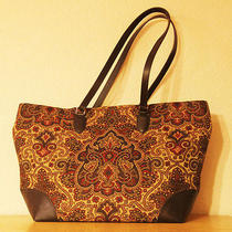 Talbots Tapestry Tote Bag Photo