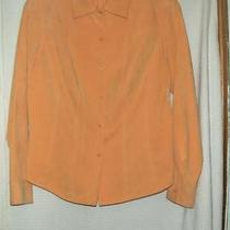 Talbots Top Size Small Orange Color Photo