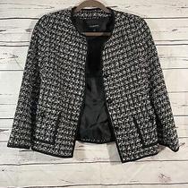Talbots Tweed Blazer Jacket Womens Size 4 Photo