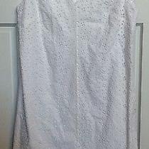 Talbots White Dress Size 12 Photo