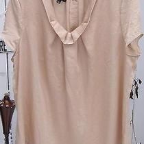 Talbots Womans Plus Size Xl Gold Top Button Back Covered Buttons With a Shine  Photo