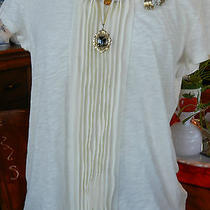 Talbots Womans Tshirt & Jewelry Combo Photo