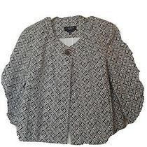 Talbots Women's Crop Blazer Jacket 3/4